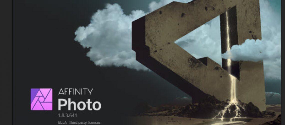 affinity photo crashing windows 10